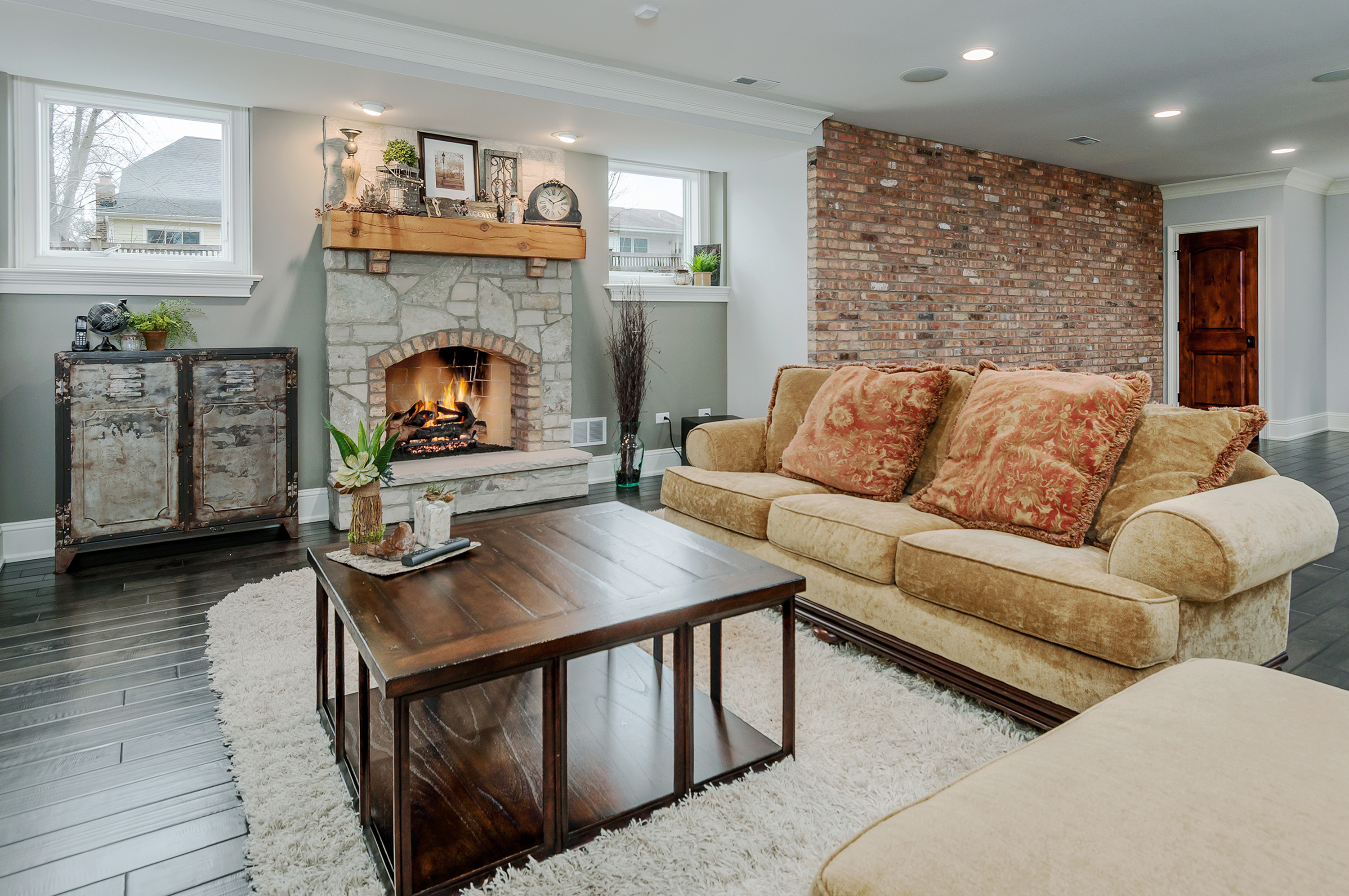 Potpourri of New Images. A warm and inviting family room in Naperville, Illinois