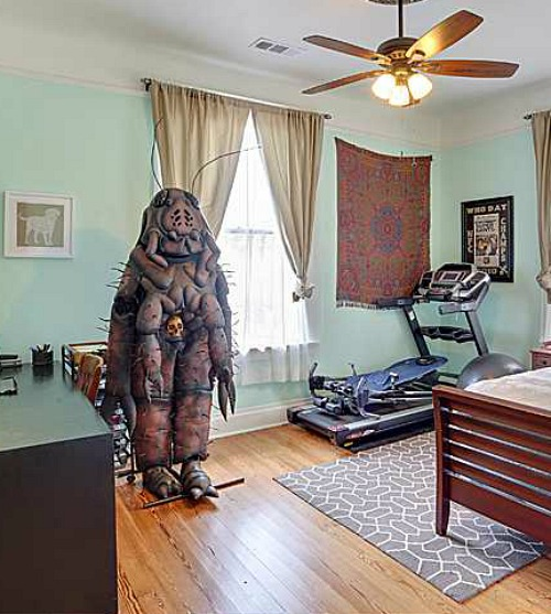 Cockroach costume - bad real estate photo