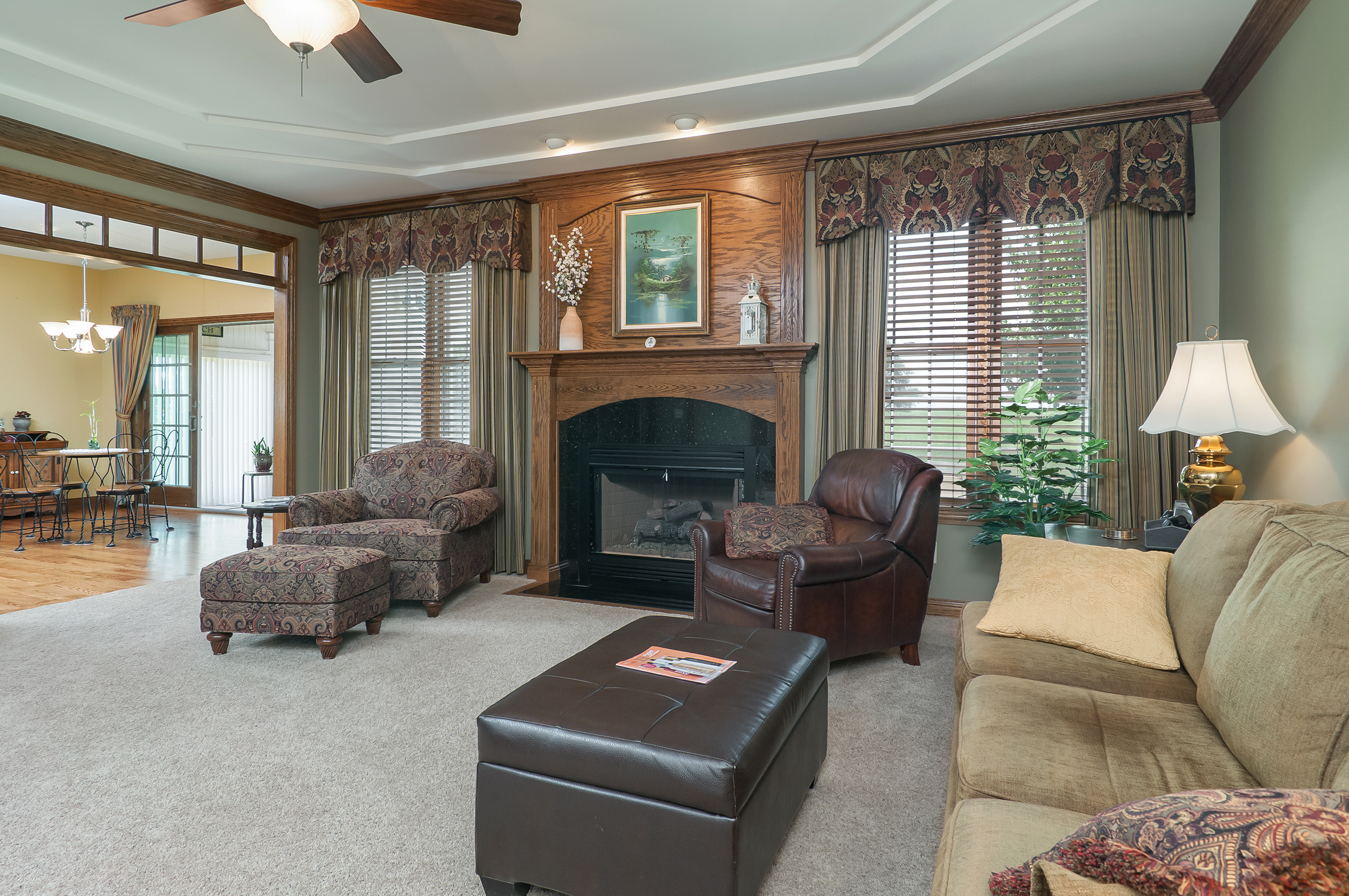 Cozy living room on Ernest Dr., Sandwich, IL