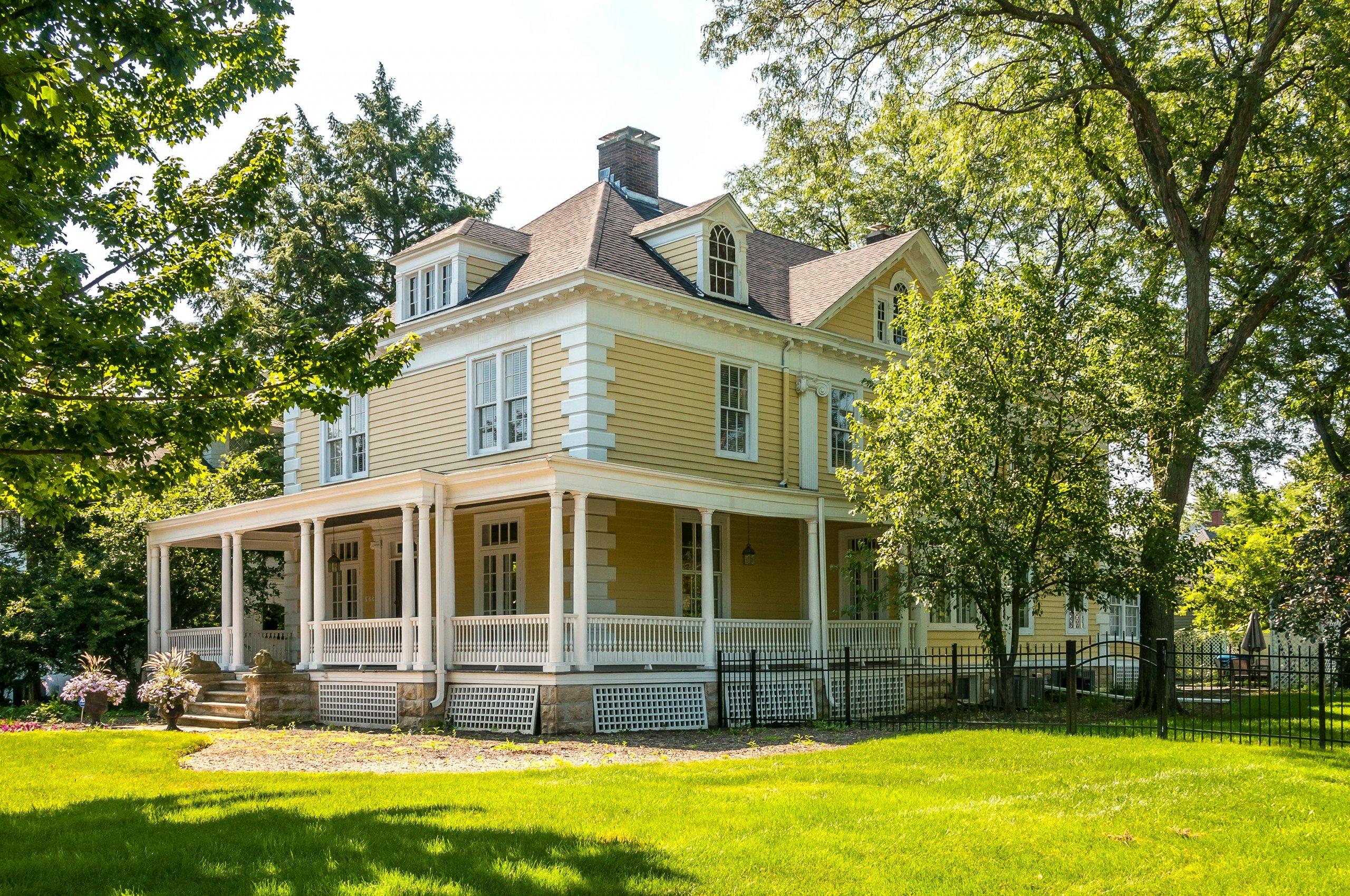 West Downer Place superb, stately Victorian mansion in Aurora, IL