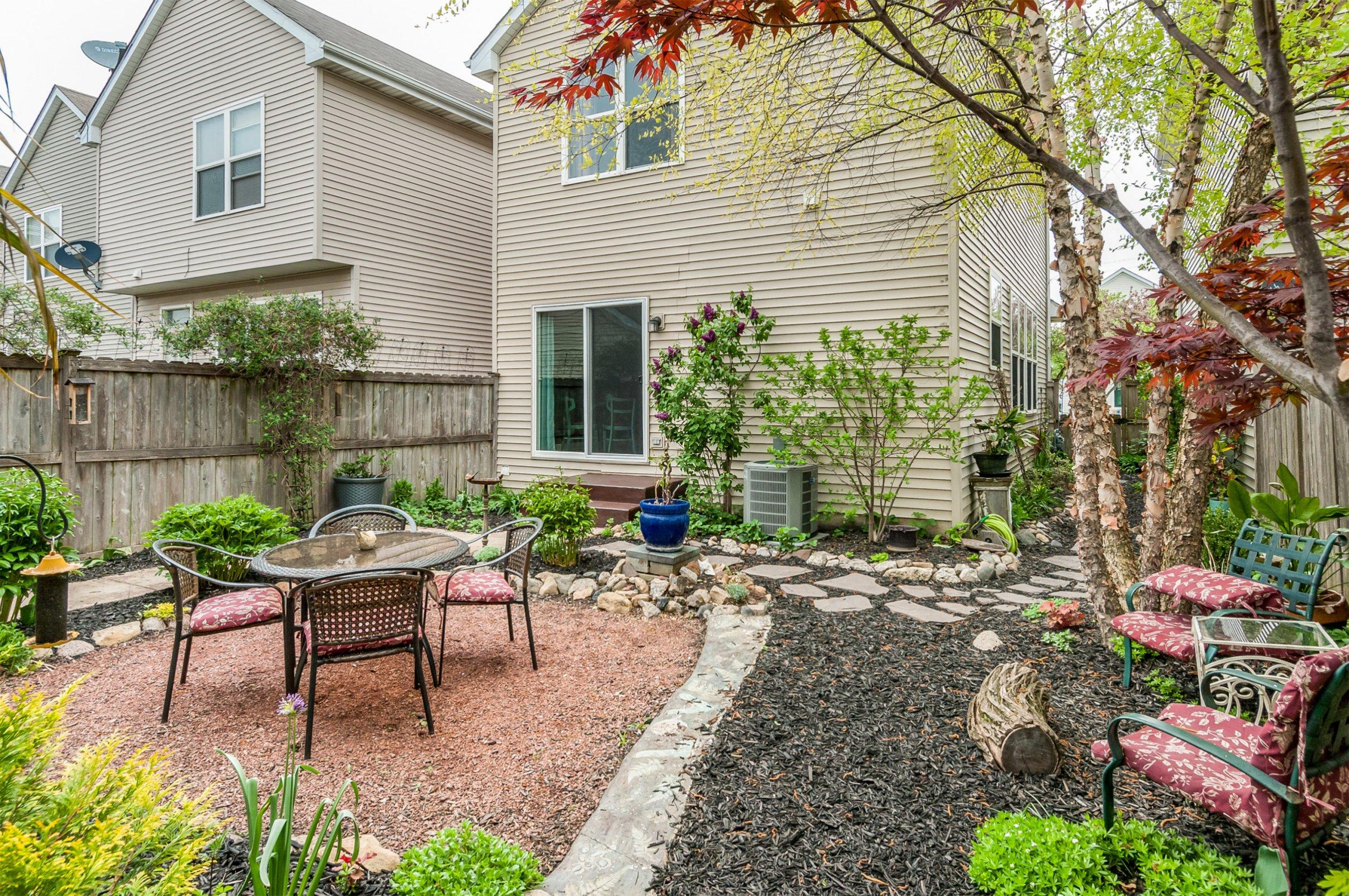 Garden at 2135 Grayhawk Dr.,Aurora, Illinois